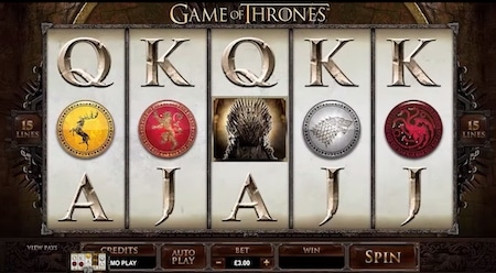 Game Of Thrones finns snart som slot utvecklad av Microgaming